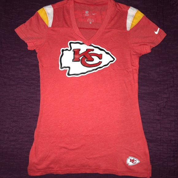 save off 9955a 2309f NIKE Kansas City Chiefs Women T-Shirt 🏈